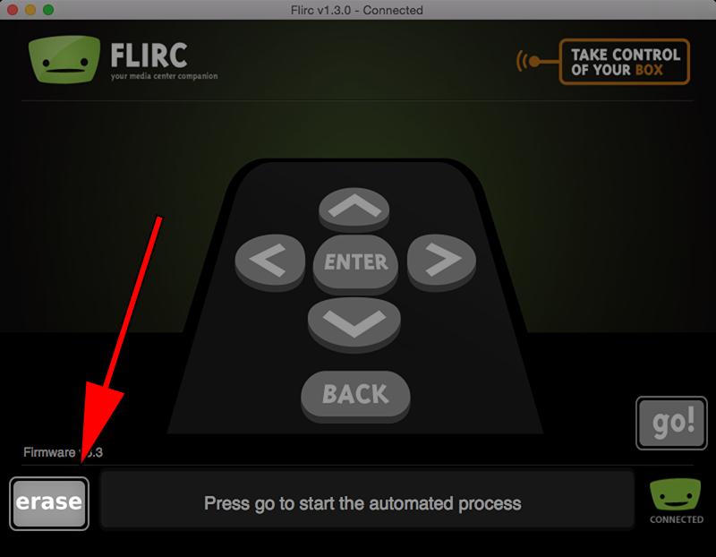 how to delete repo using remote control on kodi